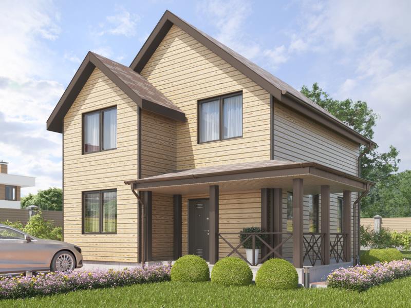 проект дома « Проект двухэтажного дома Александровский »