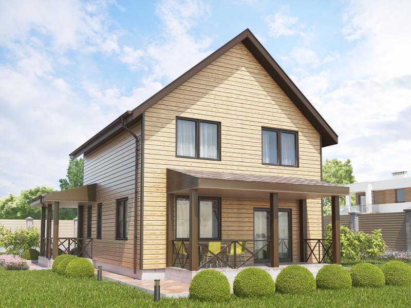 Проект двухэтажного дома Александровский - Фото №2