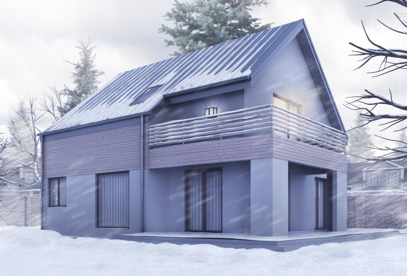 ART OF FUTURE - Проект двухэтажного дома 238 кв.м - Фото №2