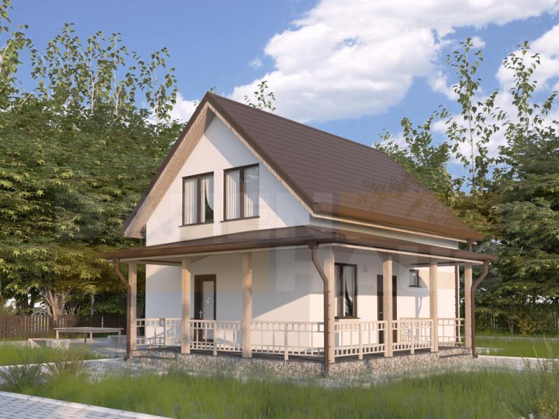 Проект двухэтажного дома - ФЕВРАЛЬ 2018 - Фото №2