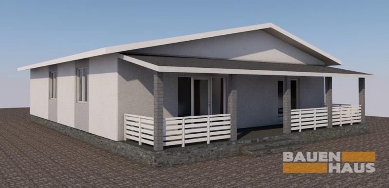 проект дома « Проект двухэтажного дома Бруно-131 с террасой »