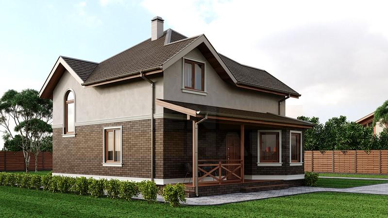 Двухэтажный дом Ганновер