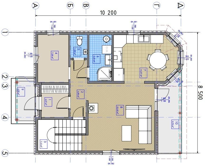 Двухэтажный дом Ганновер - Фото №3