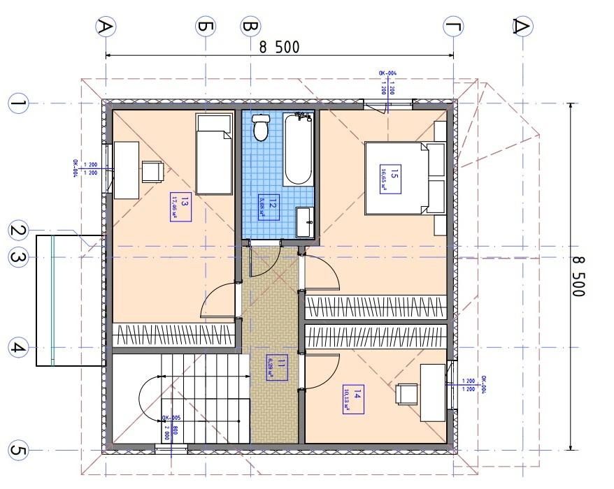 Двухэтажный дом Ганновер - Фото №4