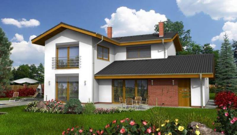 проект дома « Амфора »