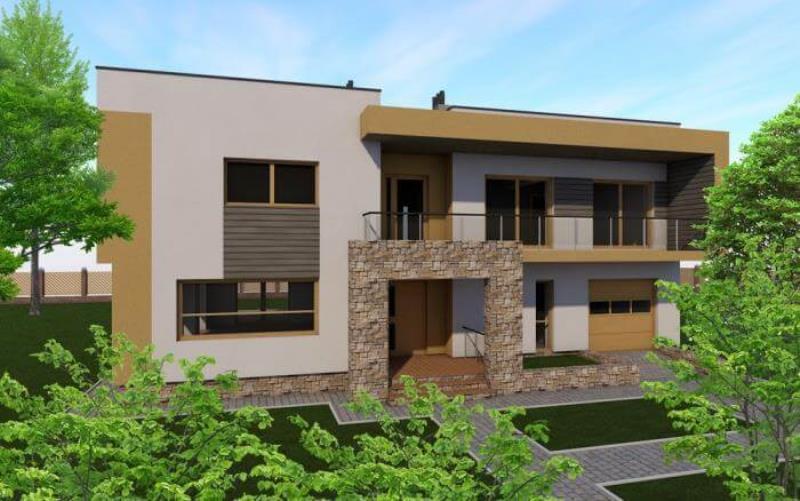 проект дома « Модерн_273 »