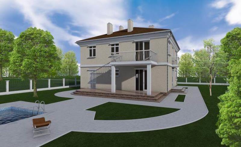 проект дома « Торонто »