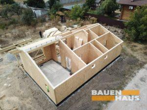 строим дома из СИП панелей Киев фото