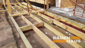 деревянная терраса СИП дома Бауен Хаус фото