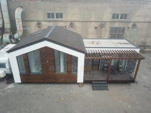 квадрокоптер модульный дом СИП фото