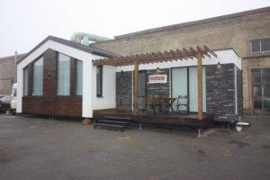 модульный дом с террасой фото