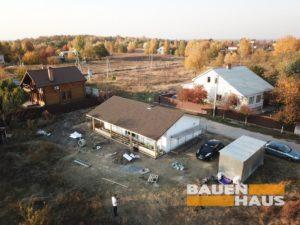 строительство дома из СИП панелей фото