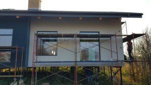 наружная отделка энергоэффективного дома SIP фото