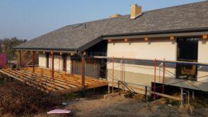 терраса деревянная СИП панельного дома фото