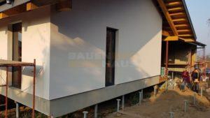 готовый фасад СИП панельного дома фото