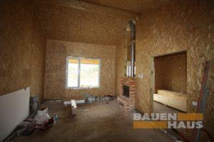 гостинная комната 25 квадратов в СИП доме фото
