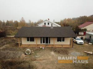 готовый дом из СИП панелей в Василькове фото