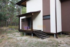 деревянное крыльцо в каркасном доме фото