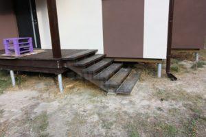 деревянные ступеньки на крыльцо фото