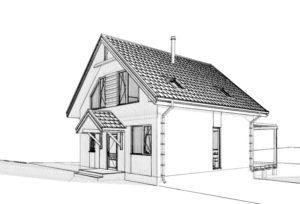 Дом из СИП панелей в Броварах