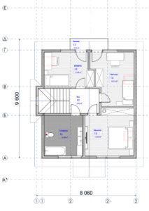 Дом из СИП панелей в Броварах план