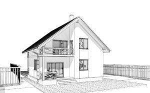 Дом из СИП панелей в Хусте