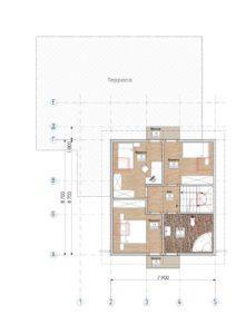 Дом из СИП панелей в Рожнах план