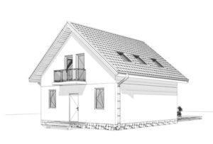 Дом из СИП панелей в Рожнах