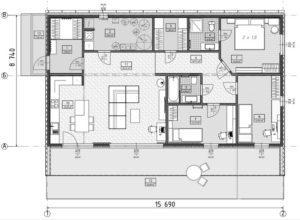Дом из СИП панелей в Виннице план