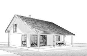 Дом из СИП панелей в Вышгороде