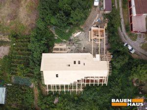 СИП дом с квадрокоптера