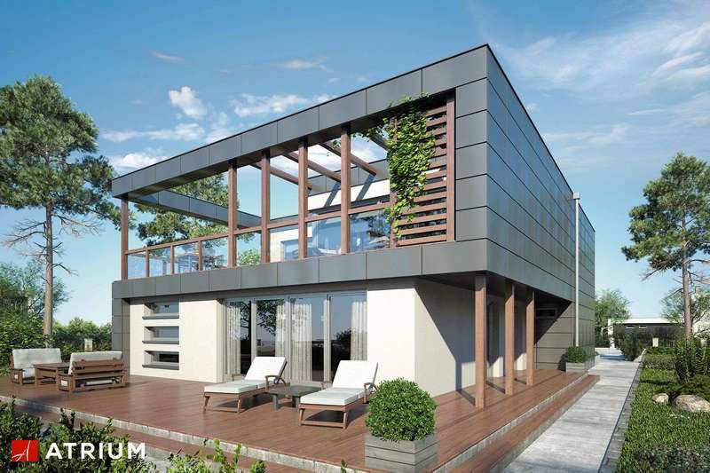 Большой двухэтажный дом из СИП панелей