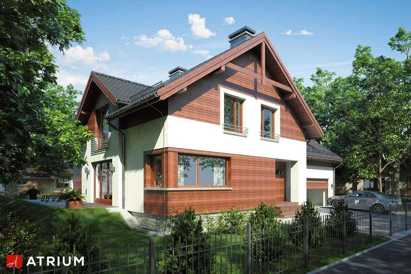 Двухэтажный дом из СИП панелей с гаражом