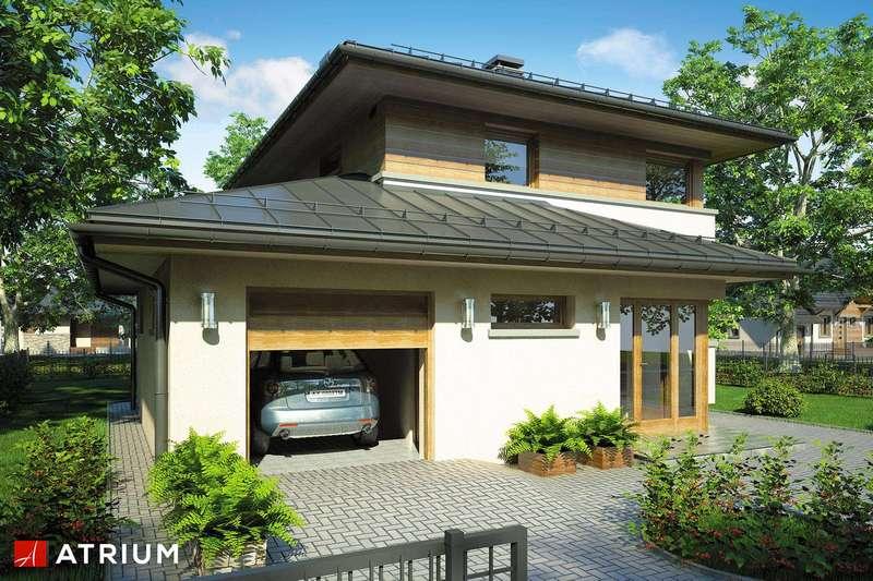 Проект дома из СИП панелей K2.187