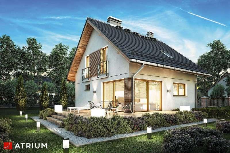 Проект мансардного дома из СИП панелей