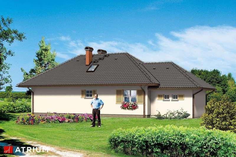 Дом из СИП панелей с чердаком