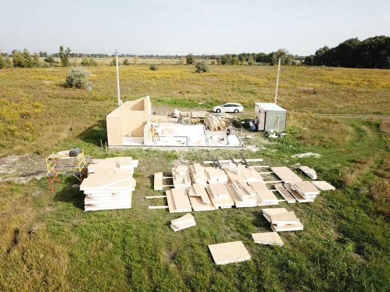 Домокомплект каркасного дома в Украине