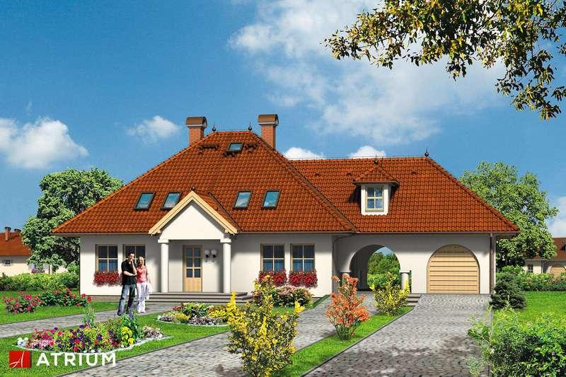 Мансардный дом из СИП панелей
