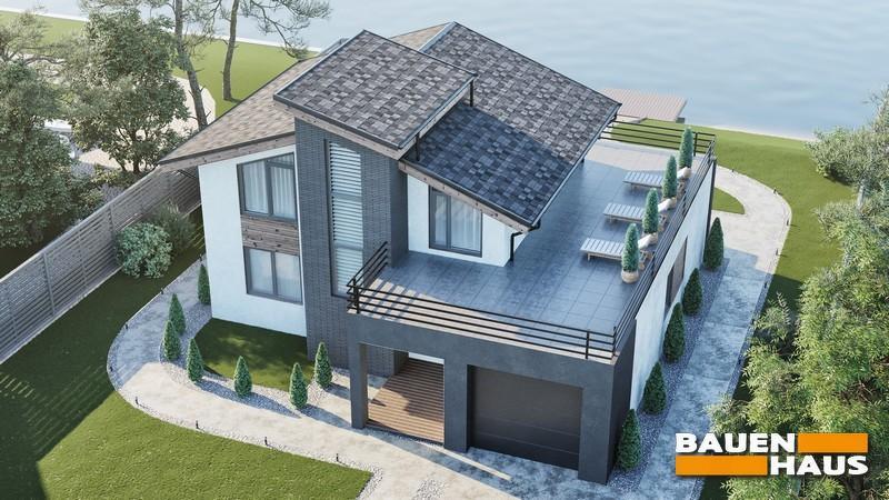 Проект дома из СИП панелей Киев