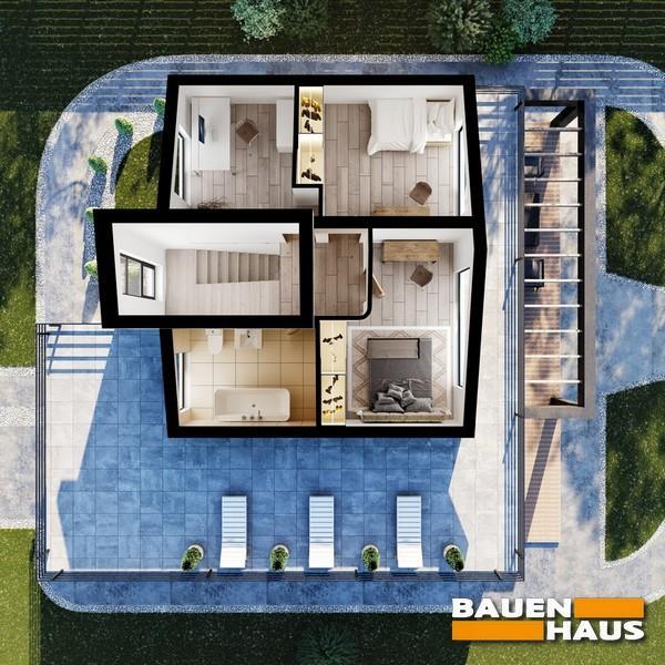 Проект дома из СИП панелей Киев план