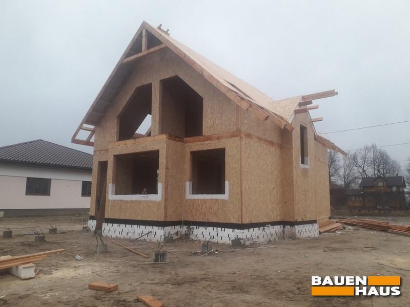 Закончили монтаж крыши