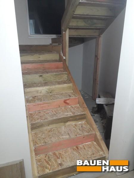 Установка СИП лестницы