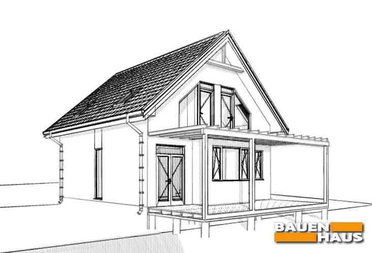 Строим дом из СИП панелей в Княжичах Киевской области