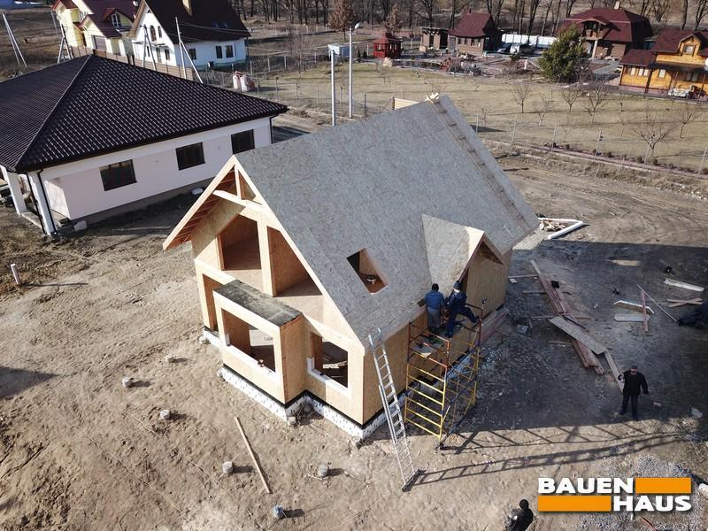 Подготовили крышу под покрытие