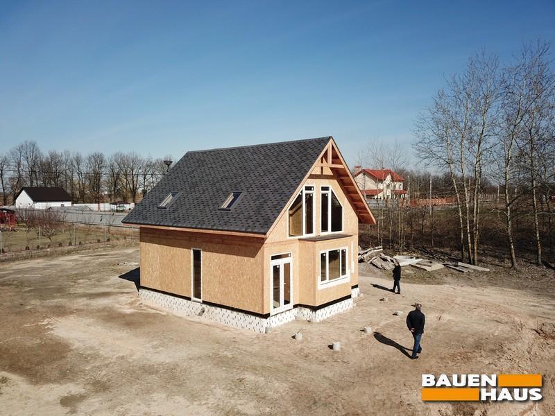 Продолжаем строить дом из СИП панелей в Киеве