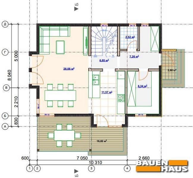 План СИП дома Белая Церковь