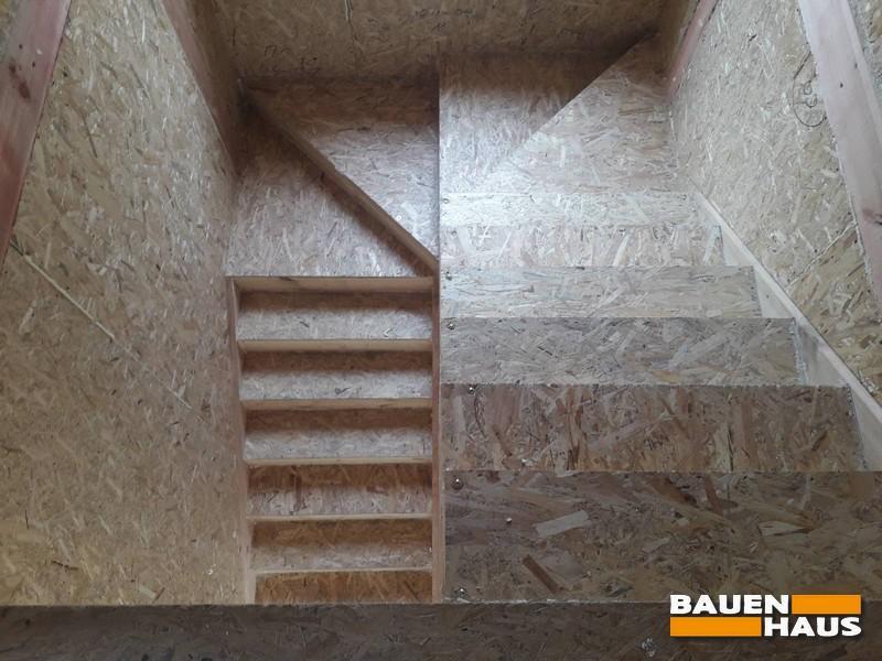 Лестница из СИП панелей